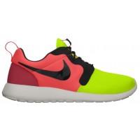 Nike Roshe One Hyperfuse/Premium Hommes chaussures de sport vert clair/noir WJL853