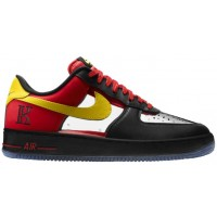Nike Air Force 1 Comfort Hommes sneakers noir/jaune VHL419