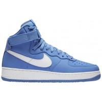 Nike Air Force 1 High Retro Hommes baskets bleu clair/blanc RTP734