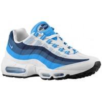 Nike Air Max 95 No Sew Hommes sneakers blanc/bleu clair ZCY406