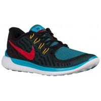 Nike Free 5.0 2015 N7 Hommes chaussures de course noir/rouge CTK816