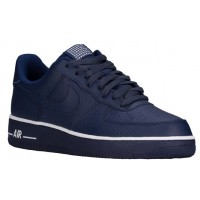 Nike Air Force 1 Low Hommes baskets bleu marin/blanc BEY789