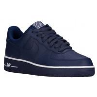 Nike Air Force 1 Low Hommes baskets bleu marin/blanc BEY789