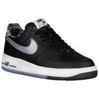 Nike Air Force 1 Low Hommes chaussures noir/argenté AGL756