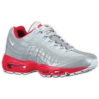 Nike Air Max 95 Hommes chaussures argenté/rouge QWV255