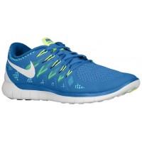 Nike Free 5.0 Hommes sneakers bleu/blanc MTR088