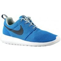 Nike Roshe One Hommes chaussures de course bleu/noir QWR345