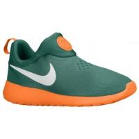 Nike Roshe One Slip On Hommes sneakers vert foncé/Orange NIC345