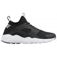 Nike Air Huarache Run Ultra Hommes chaussures de course noir/blanc RPY252