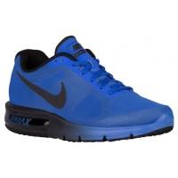 Nike Air Max Sequent Hommes chaussures bleu/noir DCX801