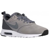 Nike Air Max Tavas Leather Hommes chaussures de course gris/blanc LZE779