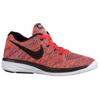 Nike Flyknit Lunar 3 Hommes sneakers Orange/violet VFU272