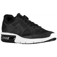 Nike Air Max Sequent Hommes chaussures de sport noir/blanc JQR984