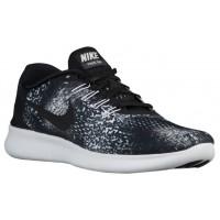 Nike Free RN Print Hommes chaussures de course noir/blanc NRV393
