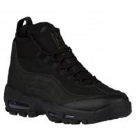 Nike Air Max 95 Sneakerboots Hommes chaussures de course Tout noir/noir TXH887