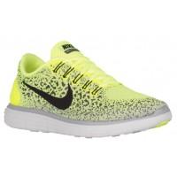 Nike Free RN Distance Hommes chaussures de sport vert clair/gris GVX341