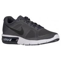 Nike Air Max Sequent Hommes chaussures de course gris/blanc BXW344