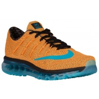 Nike Air Max 2016 N7 Hommes chaussures de course Orange/bleu clair RSH088