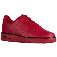Nike Air Force 1 Low Hommes sneakers rouge/noir DAG225