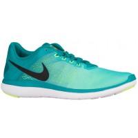 Nike Flex RN 2016 Hommes chaussures de course vert clair/vert clair HQZ816