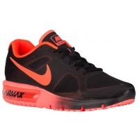 Nike Air Max Sequent Hommes baskets noir/Orange XFY533