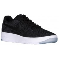 Nike Air Force 1 Ultra Flyknit Low Hommes sneakers noir/blanc HVL738