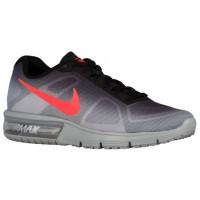 Nike Air Max Sequent Hommes chaussures argenté/noir WCT511