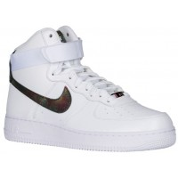 Nike Air Force 1 High LV8 Hommes baskets blanc/or XMH883