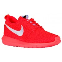 Nike Roshe One Flyknit NM Hommes chaussures Orange/blanc NTV905