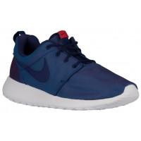 Nike Roshe One Premium Hommes chaussures bordeaux/bleu marin JDK077