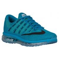 Nike Air Max 2016 Hommes chaussures de sport bleu clair/noir MUT589