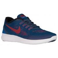 Nike Free RN Hommes baskets bleu marin/blanc DTA721