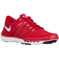 Nike Free Trainer 5.0 V6 Hommes chaussures de course rouge/blanc JUR132