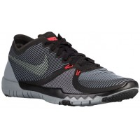 Nike Free Trainer 3.0 V4 Hommes chaussures noir/gris UJM325