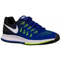 Nike Air Zoom Pegasus 33 Hommes chaussures de course bleu/noir QPK318