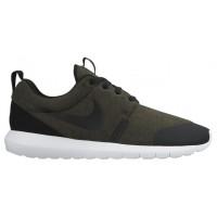 Nike Roshe One Hommes chaussures de sport olive verte/noir IFH373