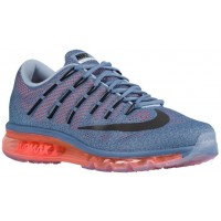 Nike Air Max 2016 Hommes sneakers bleu clair/Orange ARS089