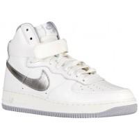 Nike Air Force 1 High Retro Hommes chaussures blanc/gris BTC406