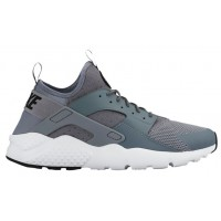 Nike Air Huarache Run Ultra Hommes sneakers gris/blanc QET053