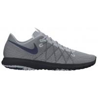 Nike Flex Fury 2 Hommes chaussures de course gris/bleu marin XFD997