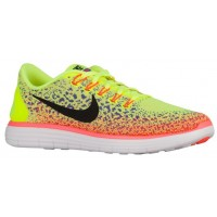 Nike Free RN Distance Hommes baskets vert clair/violet RXL720