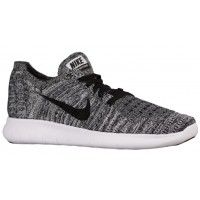 Nike Free RN Flyknit Femmes chaussures de course blanc/noir HOH511