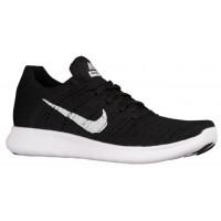 Nike Free RN Flyknit Femmes baskets noir/blanc NSP475