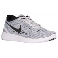 Nike Free RN Femmes chaussures blanc/gris AOU496