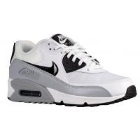 Nike Air Max 90 Femmes chaussures de sport blanc/noir TFU420