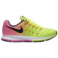 Nike Air Zoom Pegasus 33 Femmes baskets vert clair/rose YSR241