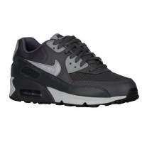 Nike Air Max 90 Femmes chaussures de course gris/argenté JLV520
