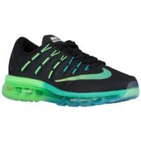 Nike Air Max 2016 Femmes chaussures de sport noir/vert clair RWK854
