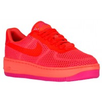 Nike Air Force 1 Low Upstep BR Femmes chaussures Orange/rose IKN894