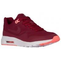 Nike Air Max 1 Ultra Moire Femmes chaussures bordeaux/rouge LEH483